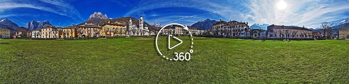 Piazza di Agordo - foto a 360 gradi