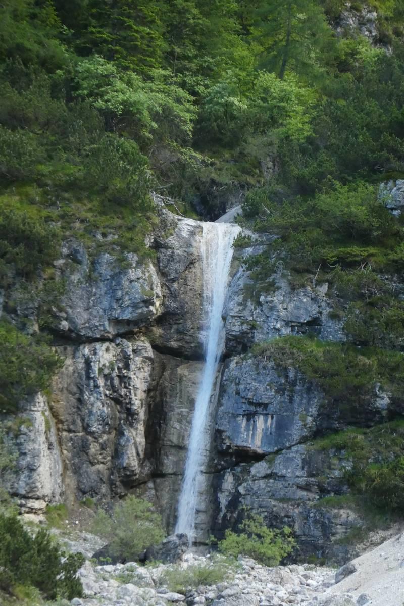 La cascata della Val Corpassa