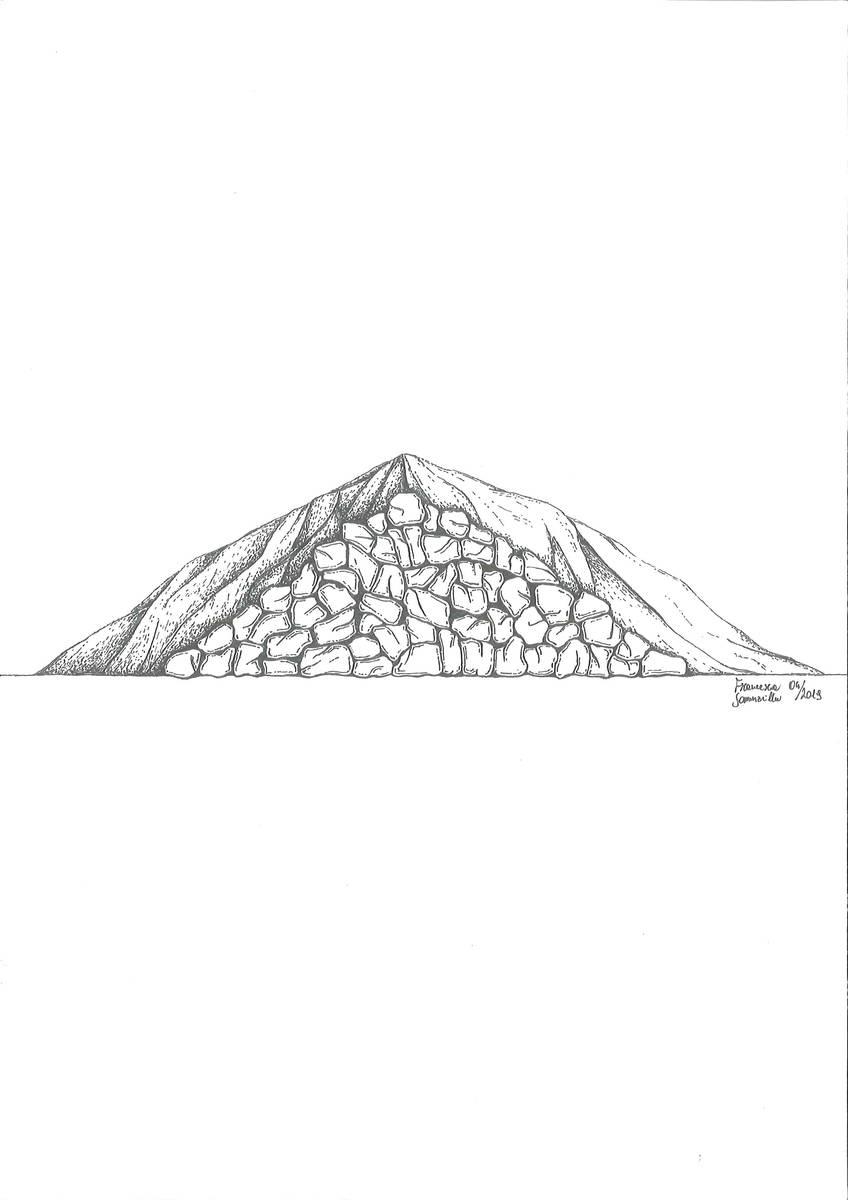 Fornace a catasta (dis. Francesca Sommavilla)