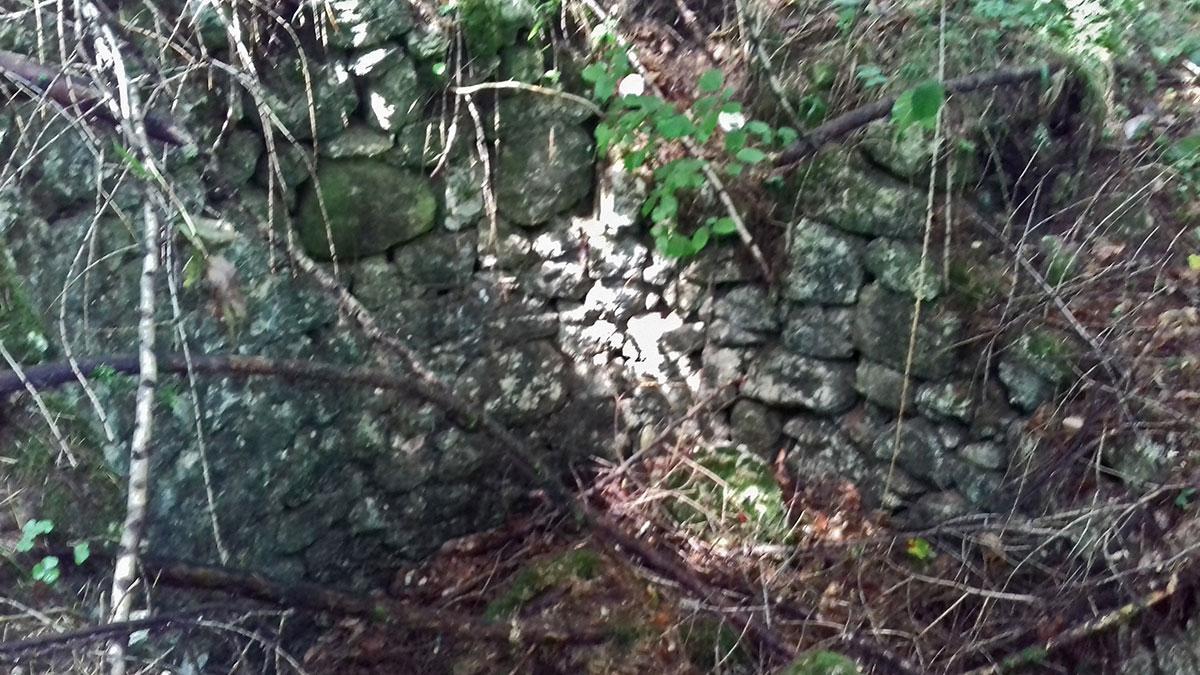 Fornace da calce in località Col de Carrera