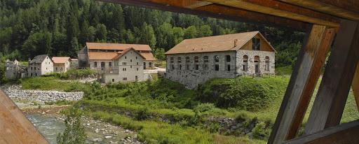 Il centro minerario di Valle Imperina (foto Patrizia Cibien)