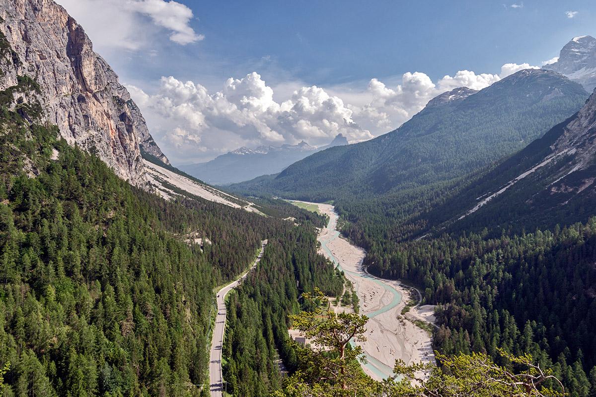 La valle del Boite (foto Giacomo De Donà)