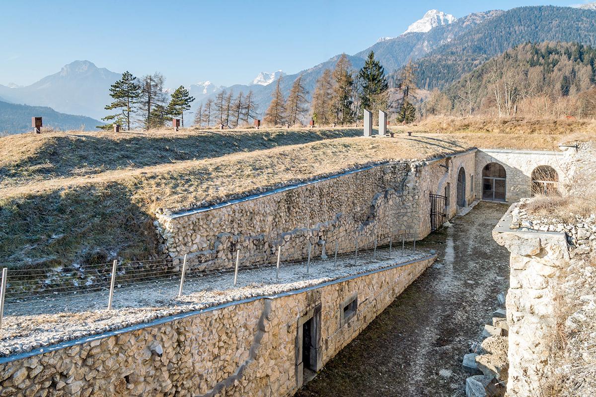 Das Äußere der Festung (foto von Giacomo De Donà)