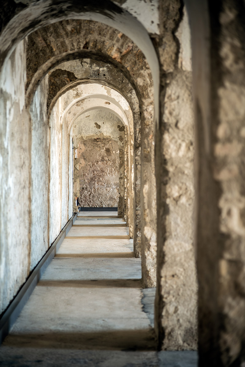 Die Innenräume der Festung (foto von Giacomo De Donà)