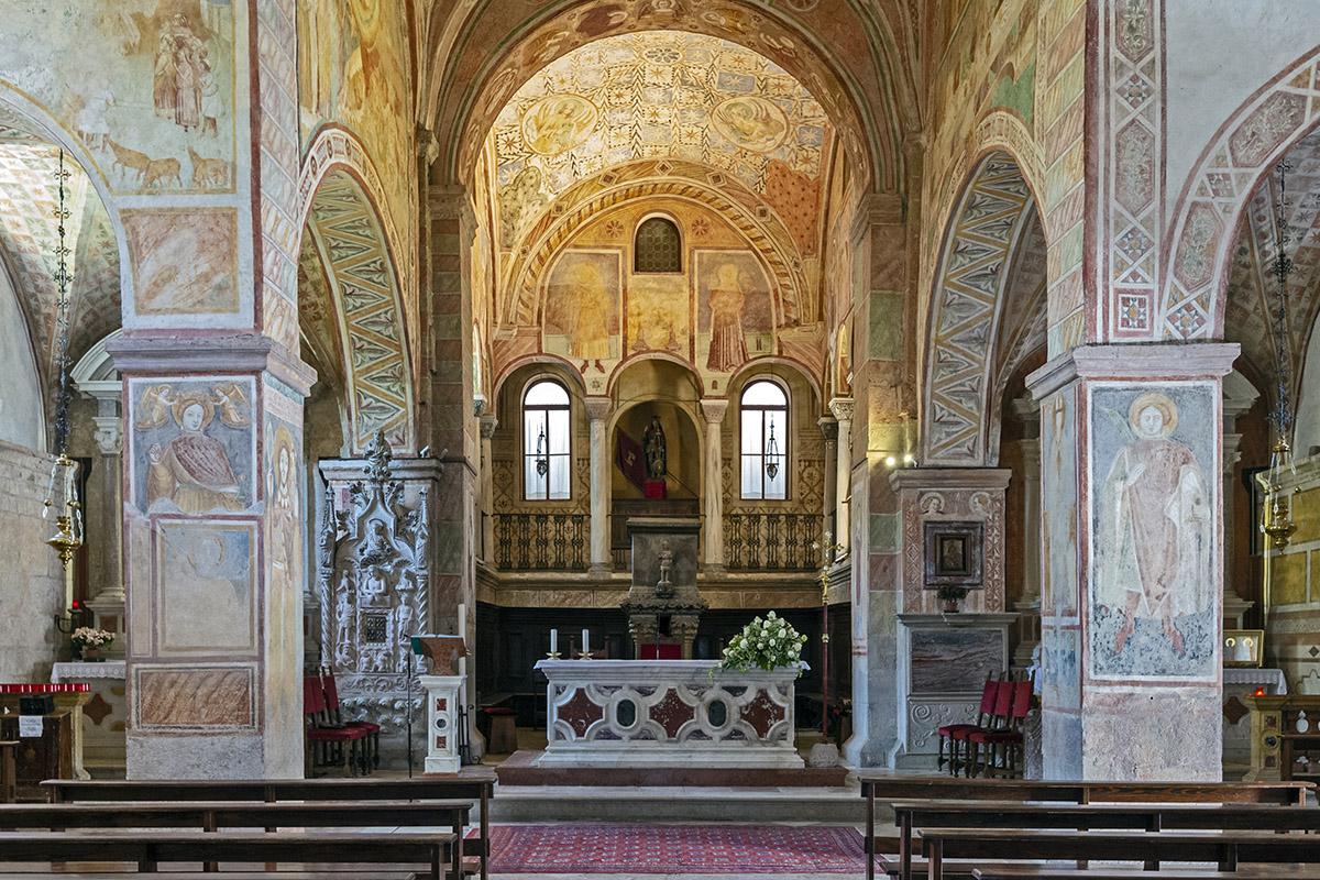 The internal apsidal area (photo by Giacomo De Donà)
