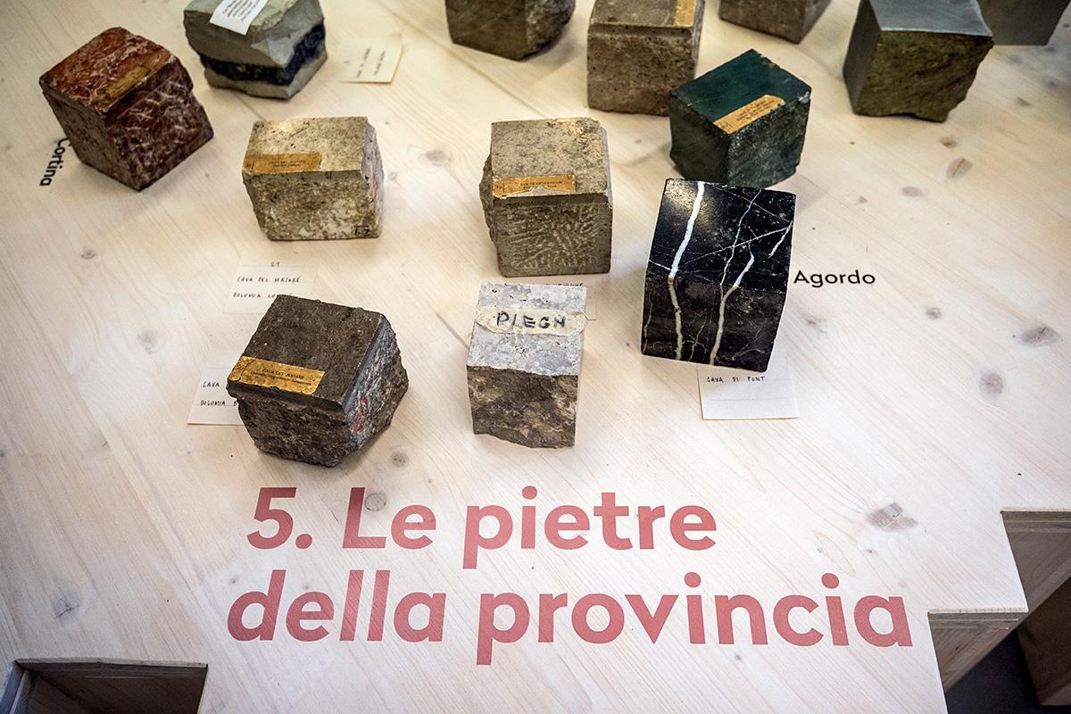 Le pietre della provincia di Belluno