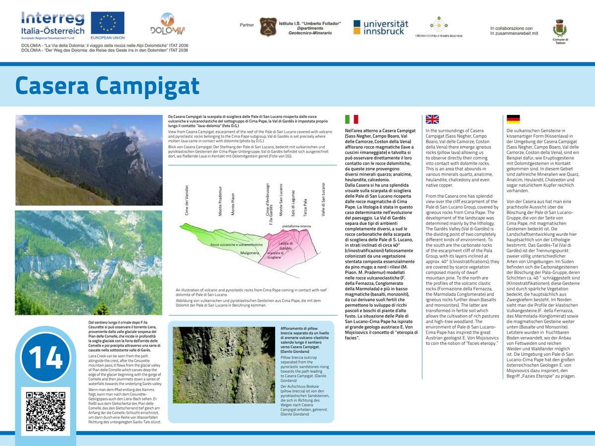 14. Casera Campigat