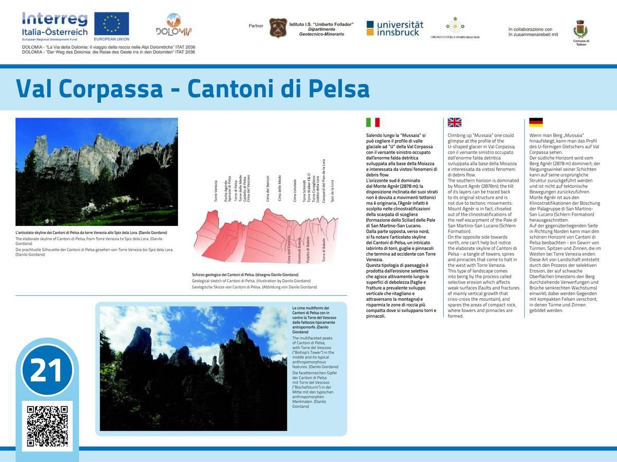 21. Val Corpassa - Cantoni di Pelsa